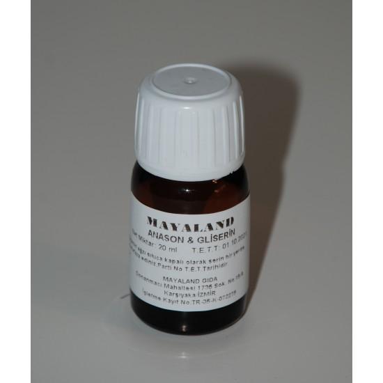 Anason Yağı& Gliserin 20 ml